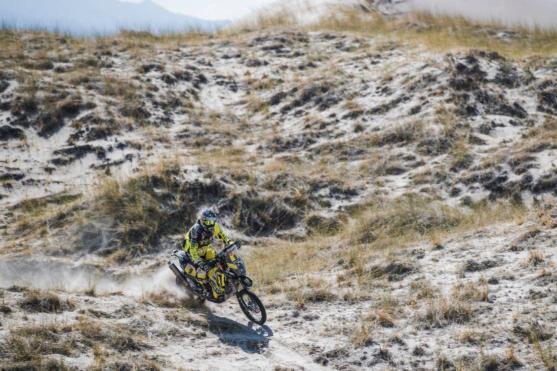 Štefan Svitko - Dakar 2018 - 10. etapa
