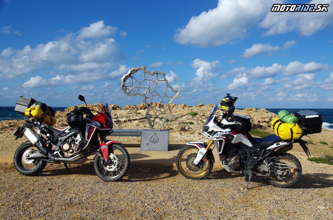 Cape Angela (Ras Angela) najsevernejší bod Afriky - Na Afrikách do Afriky - Tunisko