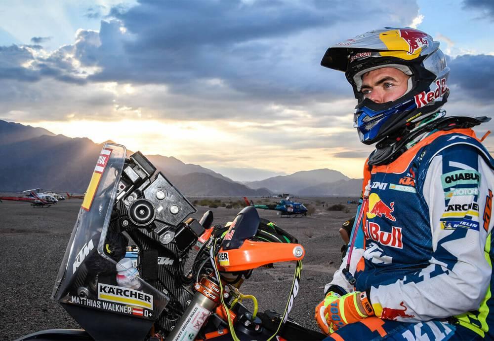 Matthias Walkner - Dakar 2018 - 10. etapa