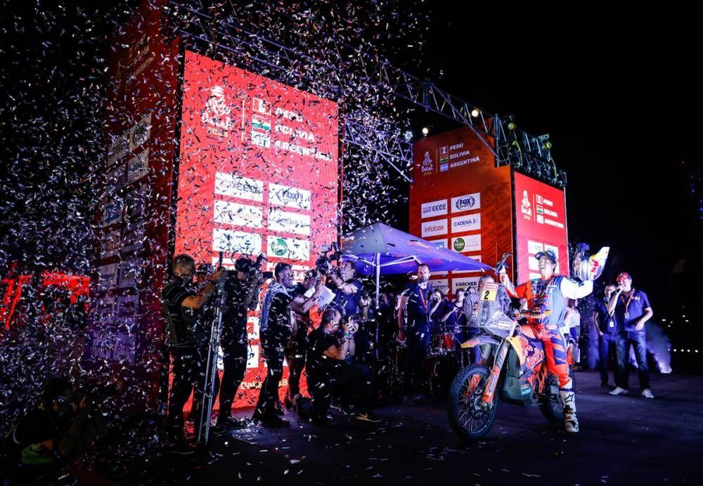 Matthias Walkner (AUT) - Dakar 2018  - 14. etapa