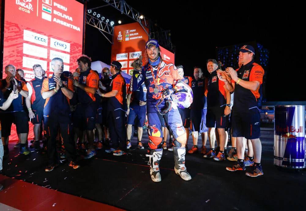 Toby Price (AUS)  - Dakar 2018  - 14. etapa