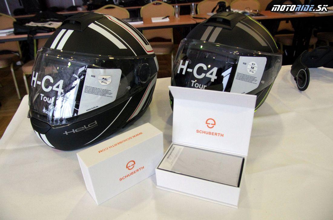Held H-C4 Tour - Held a HJC v Tatrách predstavili novinky na sezónu 2018