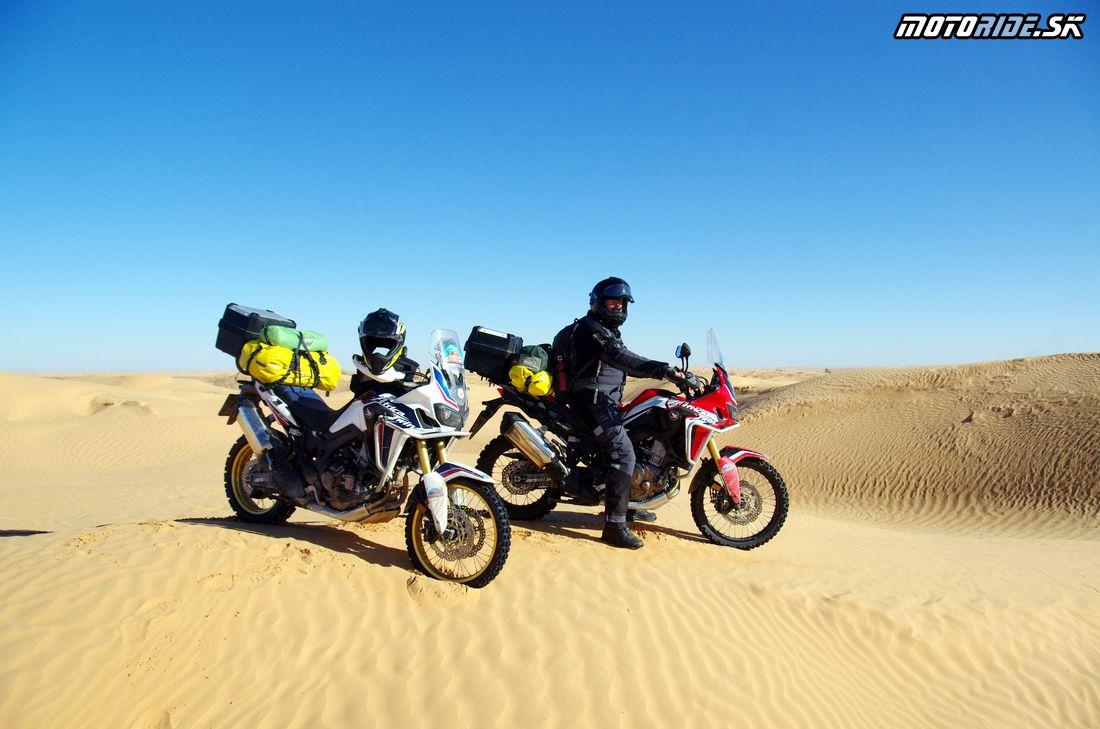 Cez Duny do Ksar Ghilane - bivak - Na Afrikách do Afriky - Tunisko