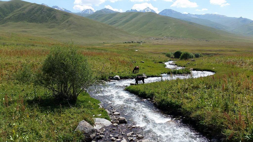 Kirgizská pohľadnica