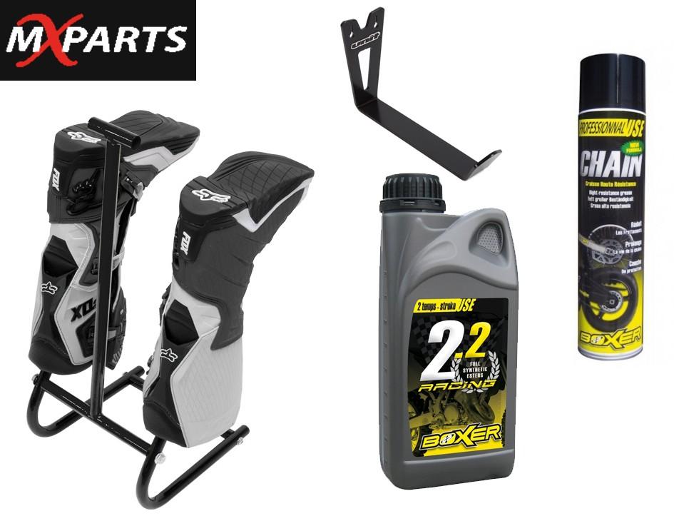 MX parts venuje sadu produktov pre dvoch výhercov v celkvoej hodnote 100 eur