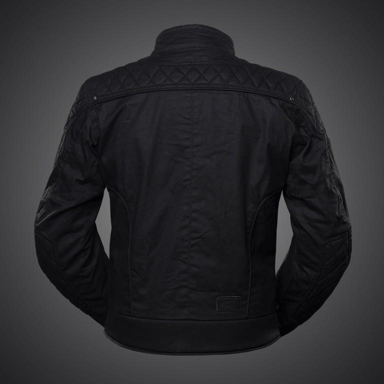 4SR Wax textilná klasická bunda na motorku