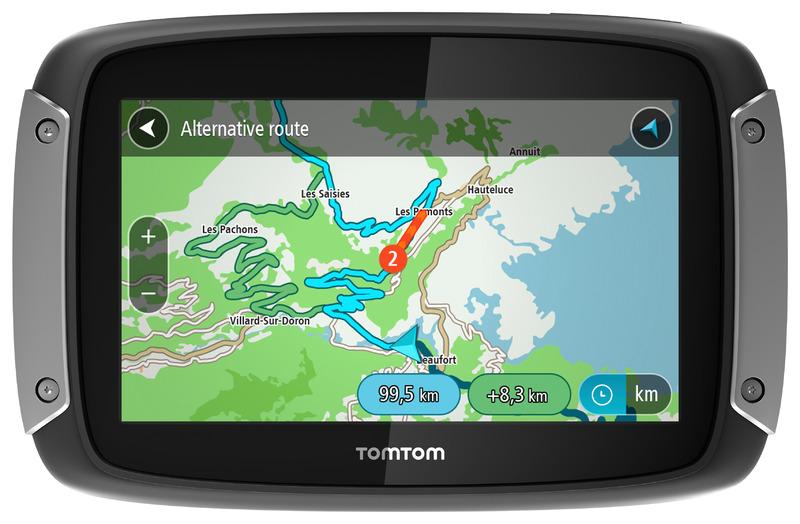 Alternatívna trasa - TomTom Rider 400 - gps navigácia