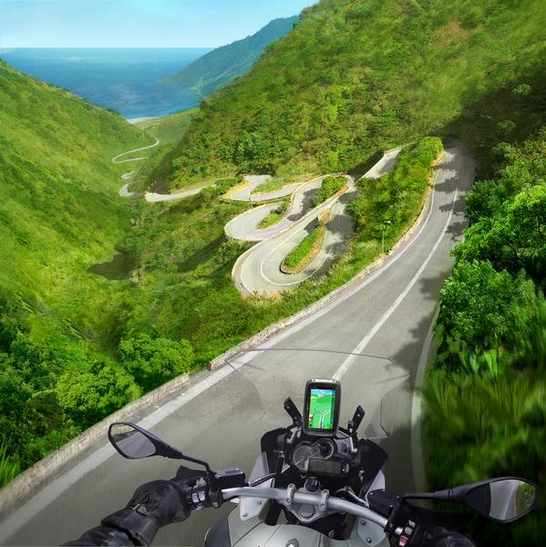 Režim na výšku - TomTom Rider 400 - gps navigácia