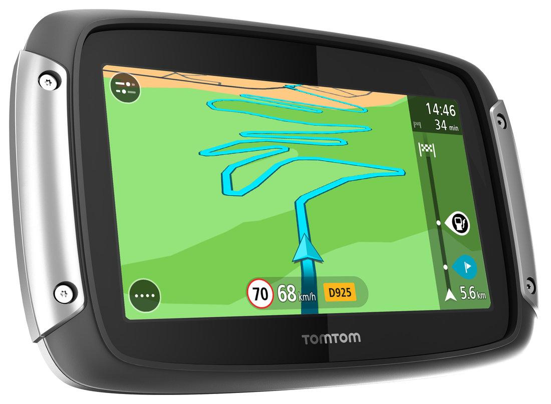 TomTom Rider 400 - gps navigácia