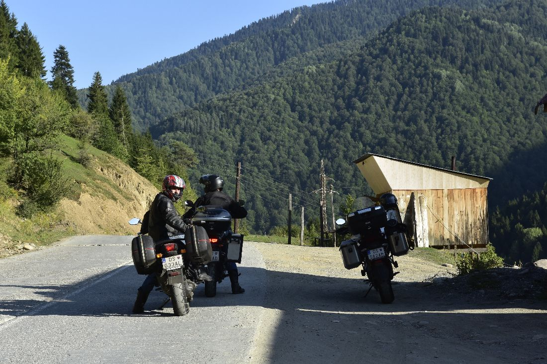 Predhorie Kaukazu v Gruzínsku