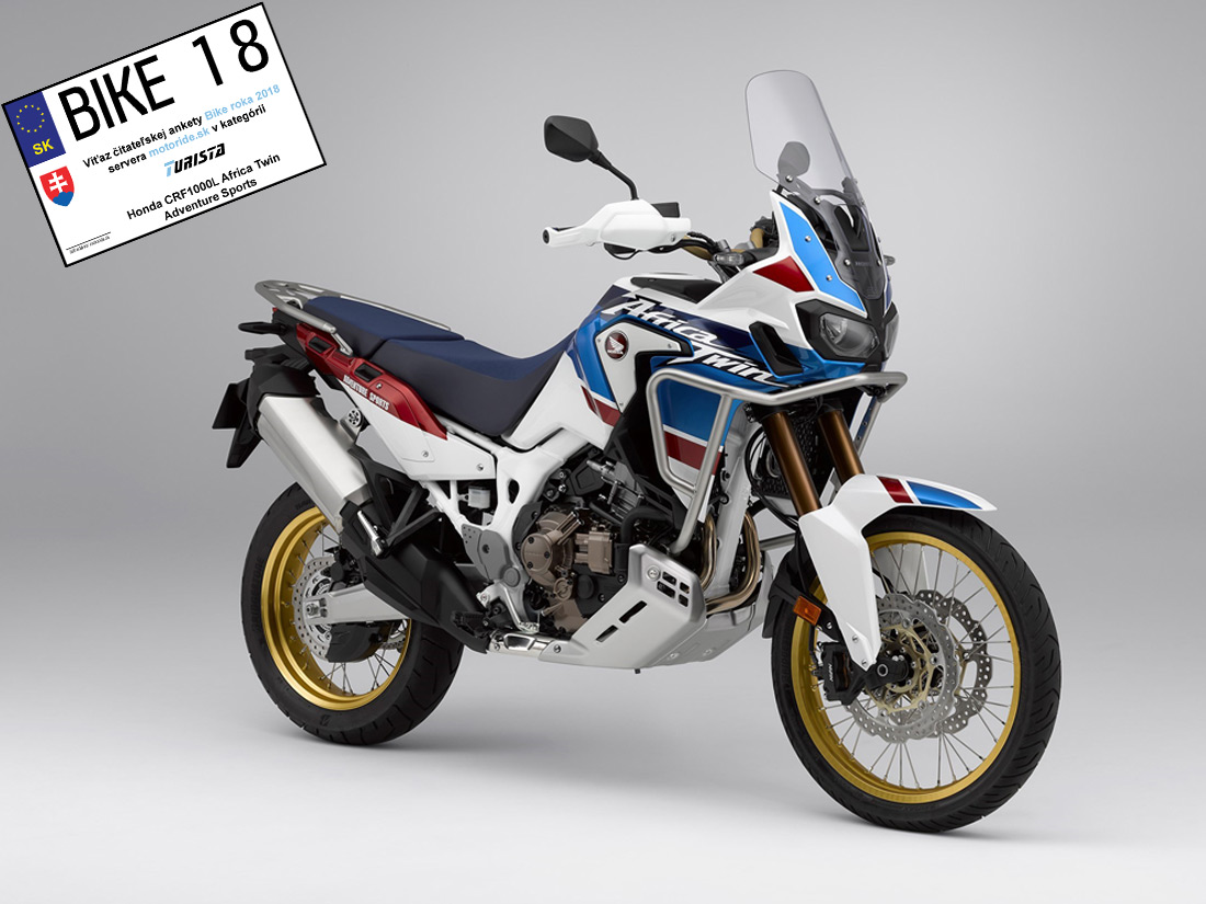 Honda CRF1000L Africa Twin Adventure Sports - Turista - Bike roka 2018