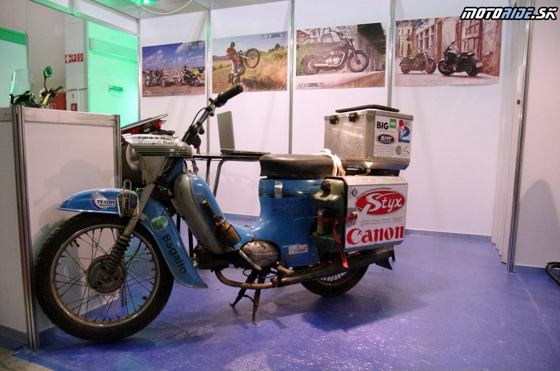 Afrika na Pionieri - jeden z piatich Pionierov, ktorý prešiel Afriku - Stánok Motoride.sk - Prvý fotoreport z výstavy Motocykel 2018