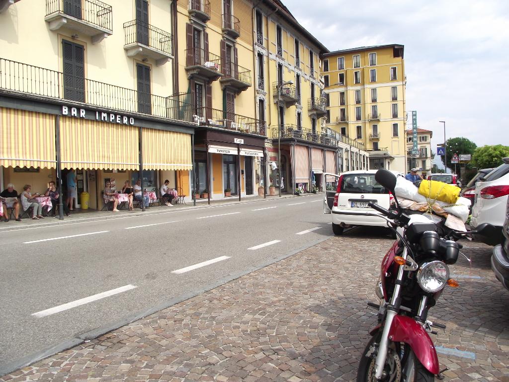 V Taliansku pri Lago di Como - Yamaha YBR 250