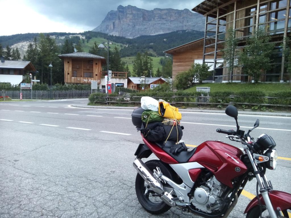 V Dolomitoch - Yamaha YBR 250