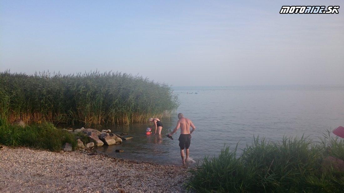 Verejná pláž na Balatone  - Bod záujmu