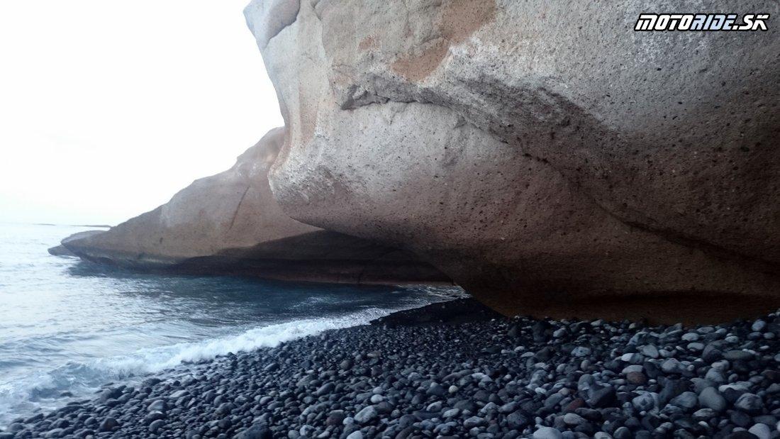 Pláž La Caleta, Tenerife  - Bod záujmu