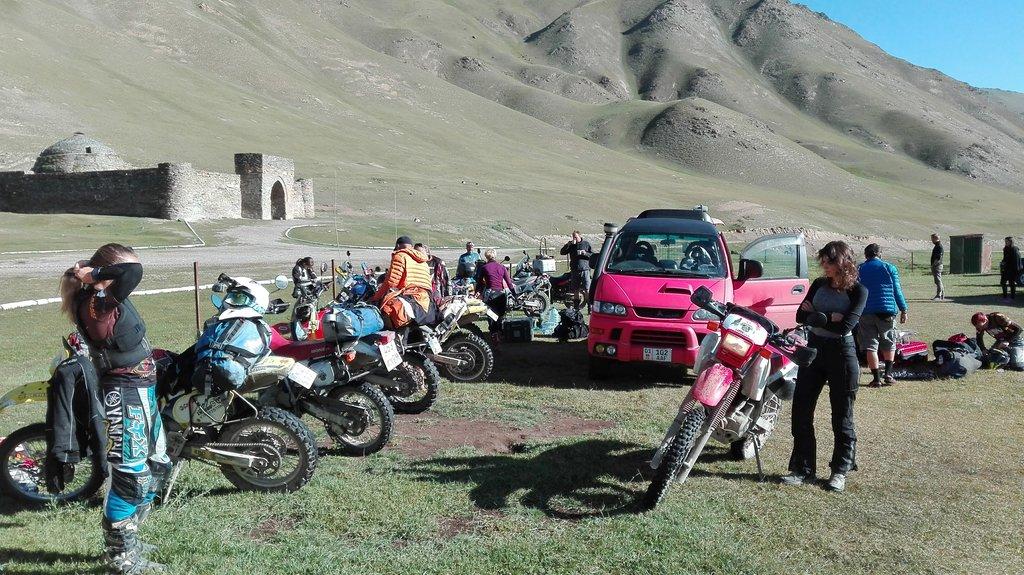 Tash Rabat, Kirgizsko - Bod záujmu