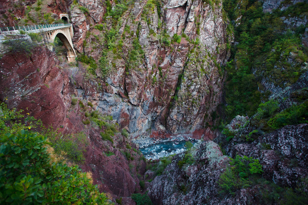 Fantastická úžina Gorges de Daluis.
