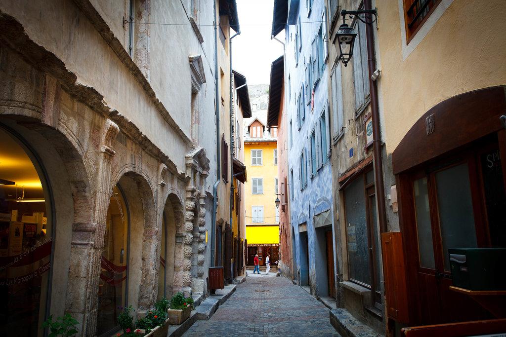Briancon, najvyššie položené Európske mesto. 1326 mnm.