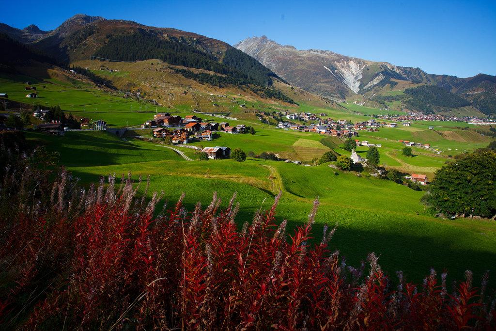 Pohlľad na katalógové Švajčiarsko.