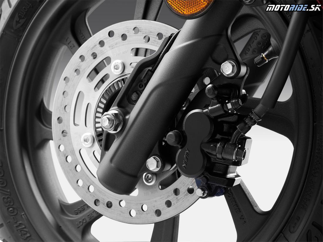 Honda PCX 125 2018 - systém ABS