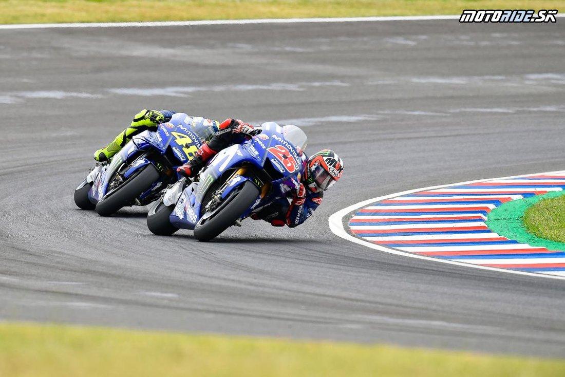 maverick vinales esp  - MotoGP Argentína 2018