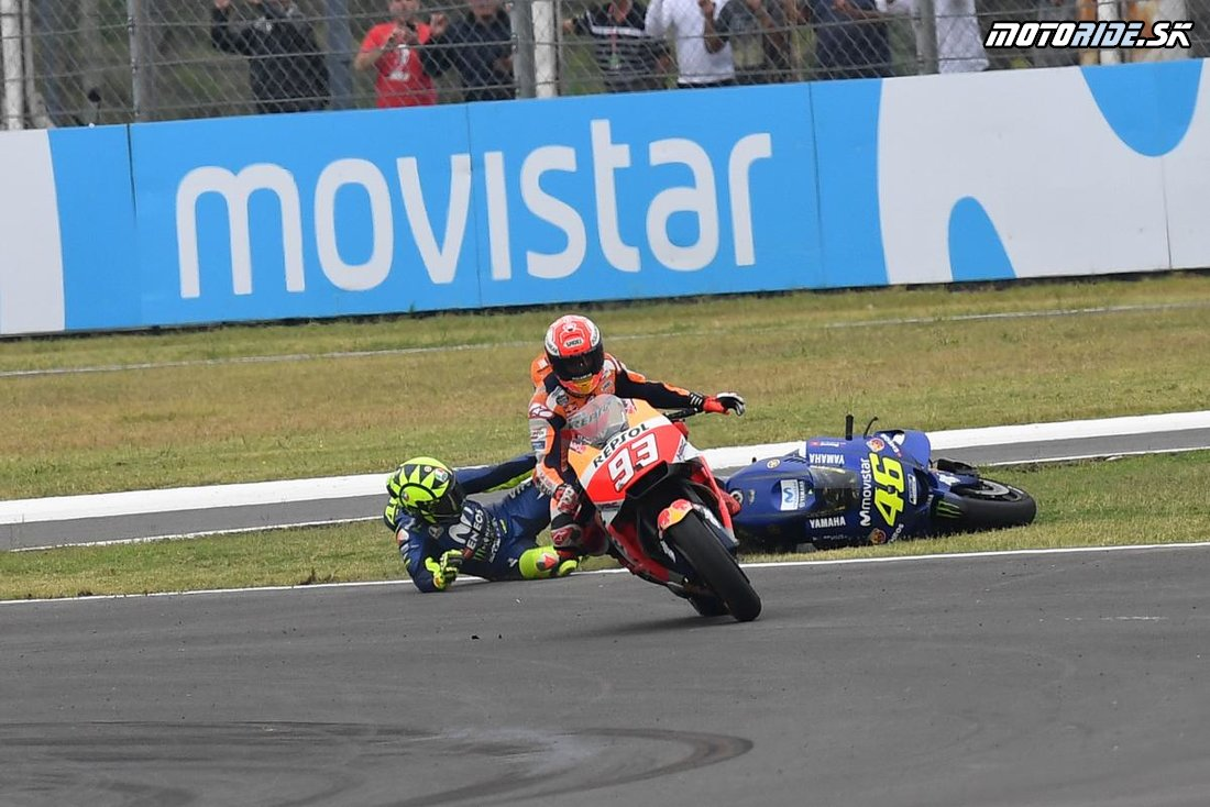 Marc Márquez vs. Valentino Rossi - MotoGP Argentína 2018