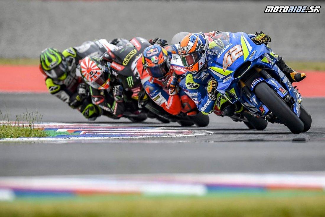 alex rins  - MotoGP Argentína 2018