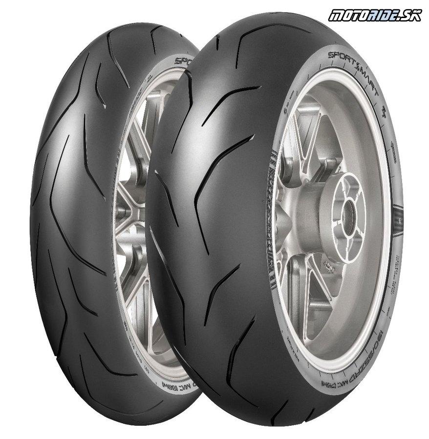 Zajazdili sme si na nových Dunlop Sportsmart TT - sú najmä pre okruhových paličov