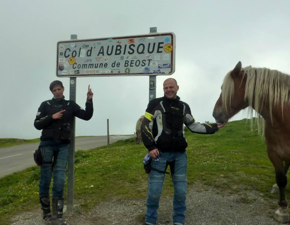 Col d´Aubisque, Soňa, Oliver a polodivé kone