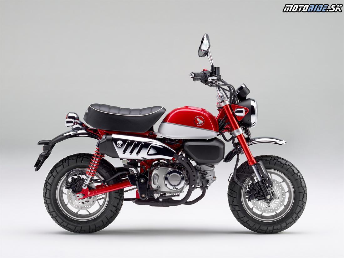 Honda Monkey 125 2018 - Pearl Nebula Red