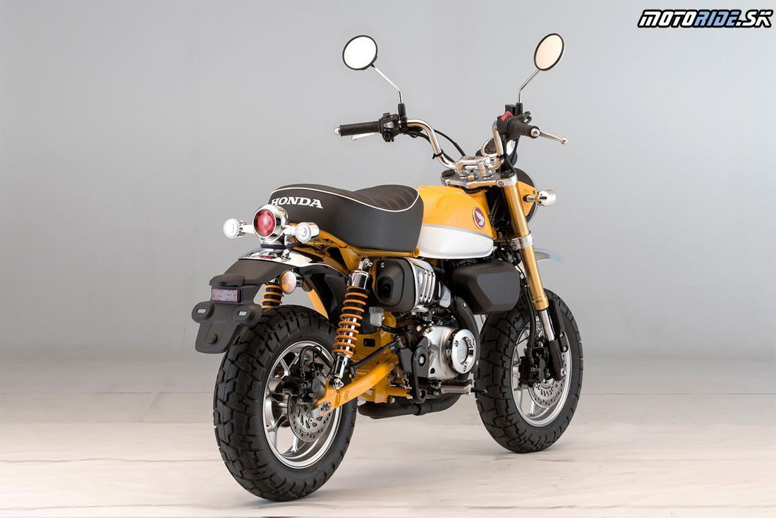 Honda Monkey 125 2018 - Banana Yellow
