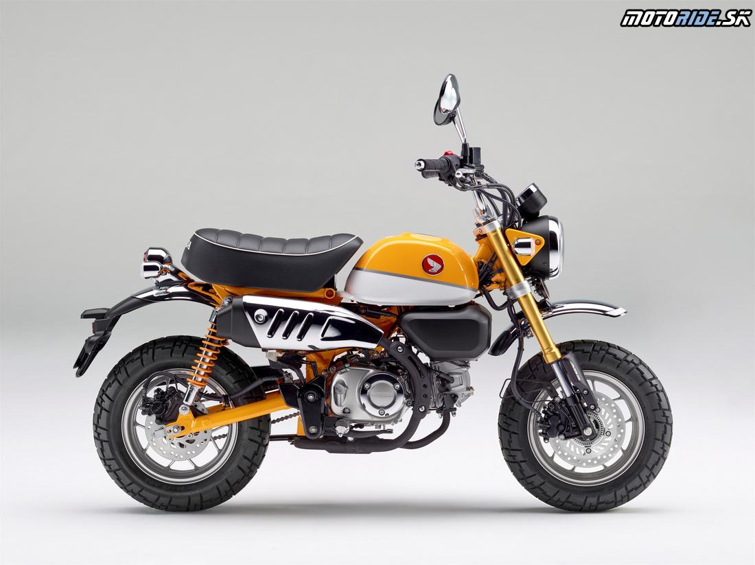 Honda Monkey 125 2018 - Banana Yellow