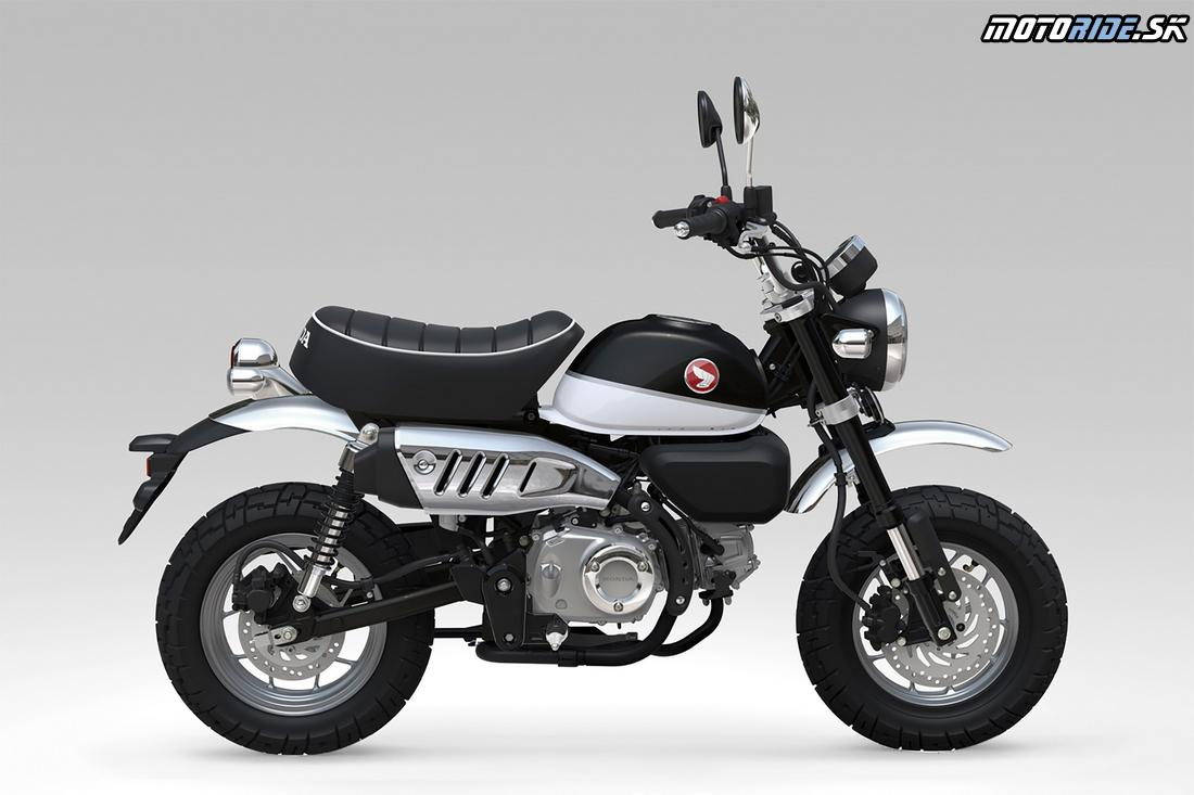 Honda Monkey 125 2018 - Pearl Shining Black