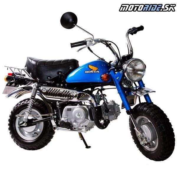 """Honda Monkey 1978  - Prvý model s palivovou nádržou v tvare kvapky ako pri """"custom"""" motocykloch"""