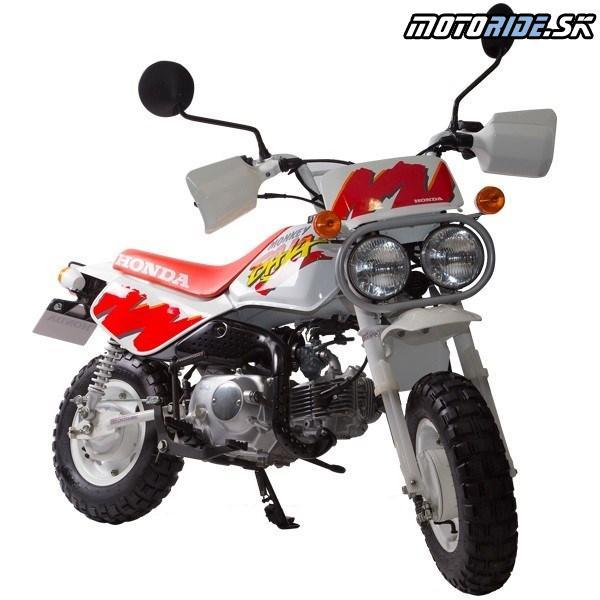 """Honda Monkey 1991-  Verzia v off-roadovom štýle """"Baja"""" s dvoma svetlometmi"""