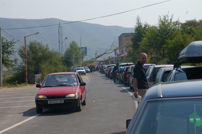 Albánsko hranica