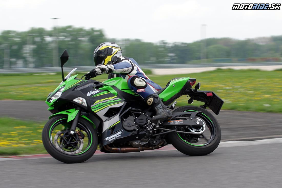 Kawasaki Ninja 400 2018 - Kawasaki Track Day 2018