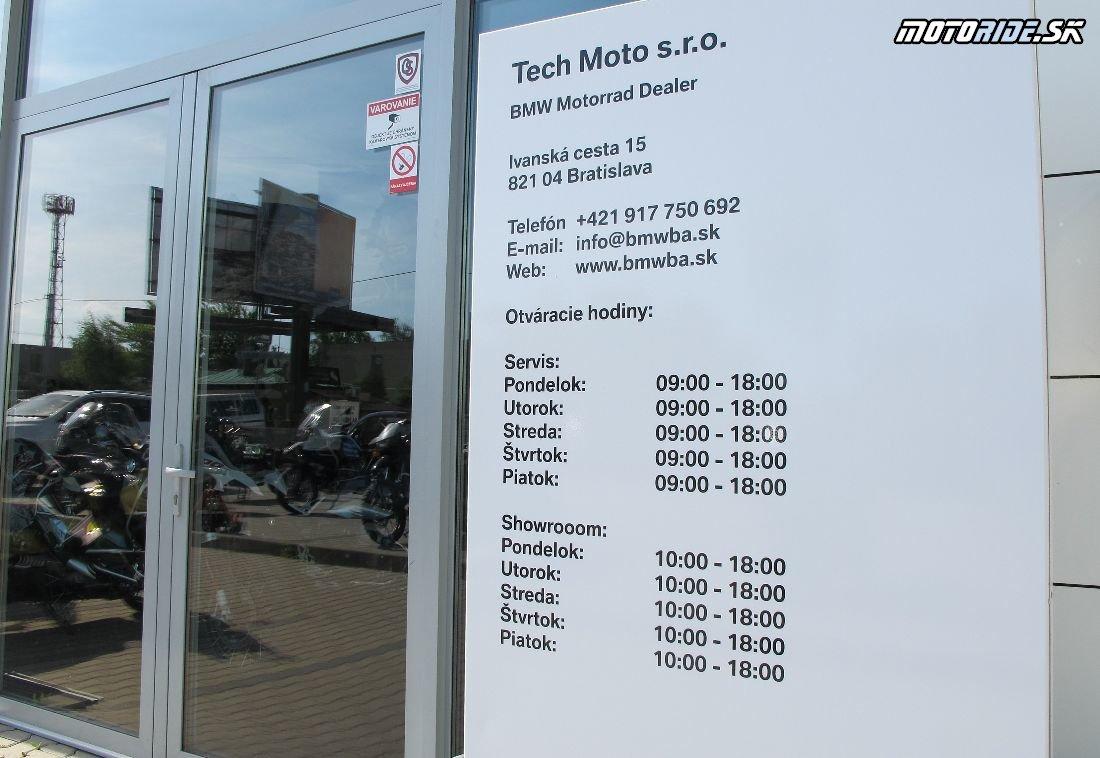 Nový dealer BMW na starej adrese: Tech Moto, Bratislava