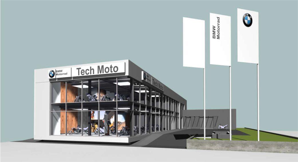 Vizualizácia budúceho showroomu na Račianskej ulici