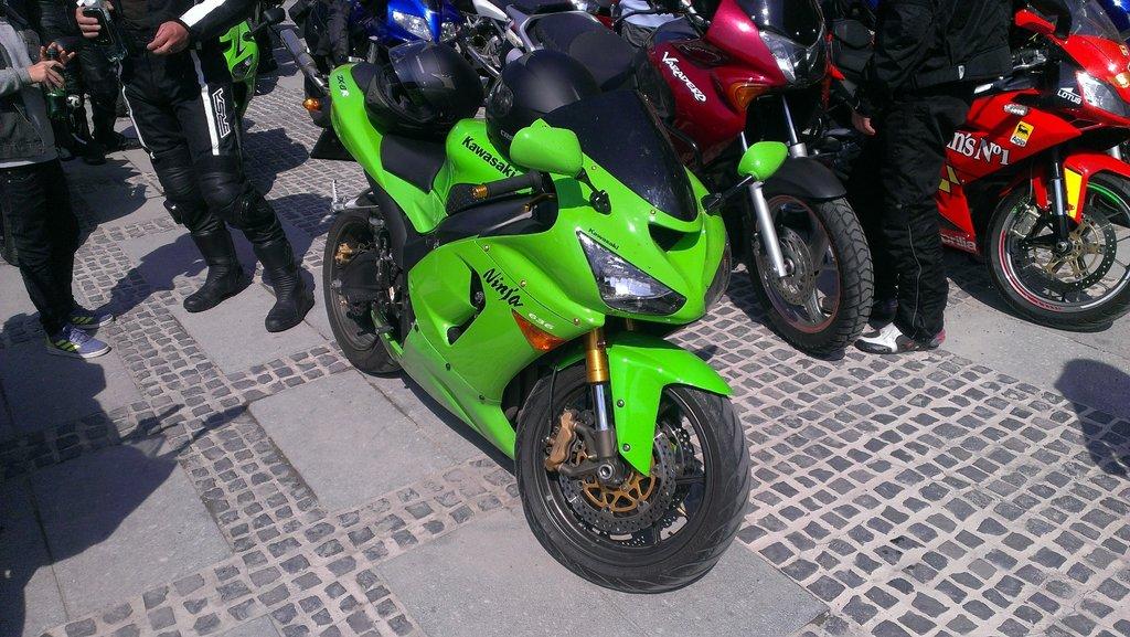 Keď Kawasaki, tak zelená