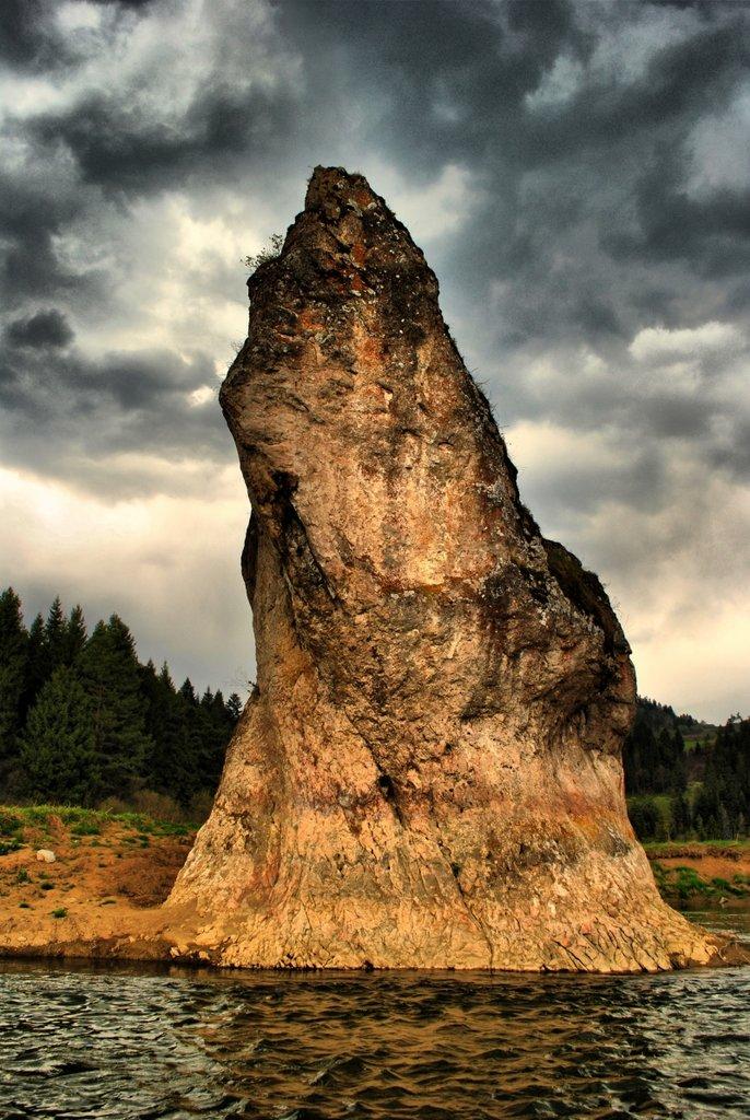 Skalná ihla, Chmeľnica, Slovensko - Bod záujmu