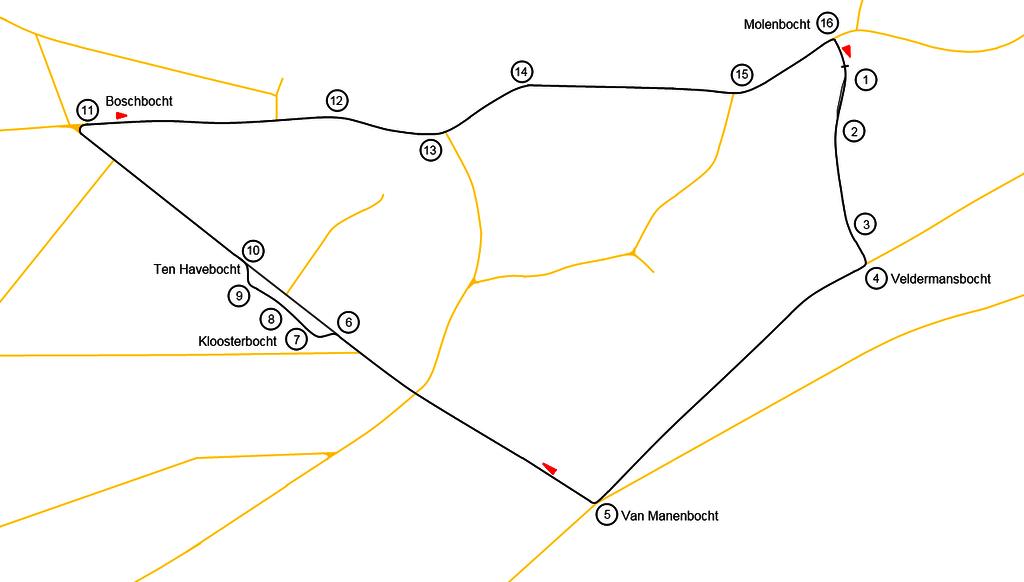 Prírodný okruh Varsselring, Hengelo, Holandsko - Bod záujmu