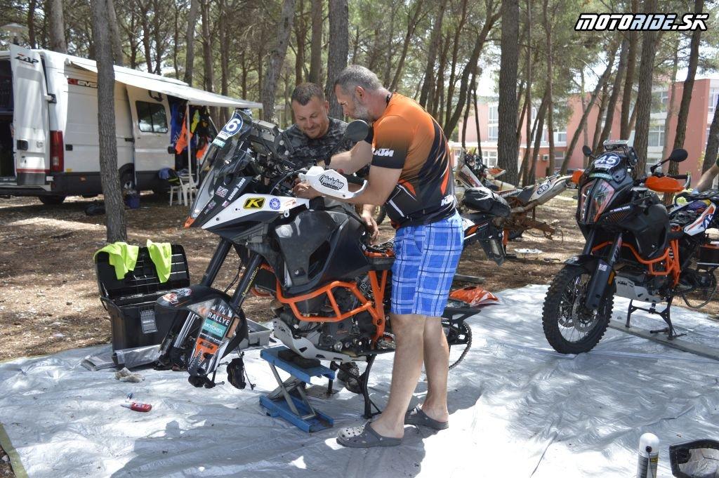 Deň voľna fotky - Croatia Rally 2018