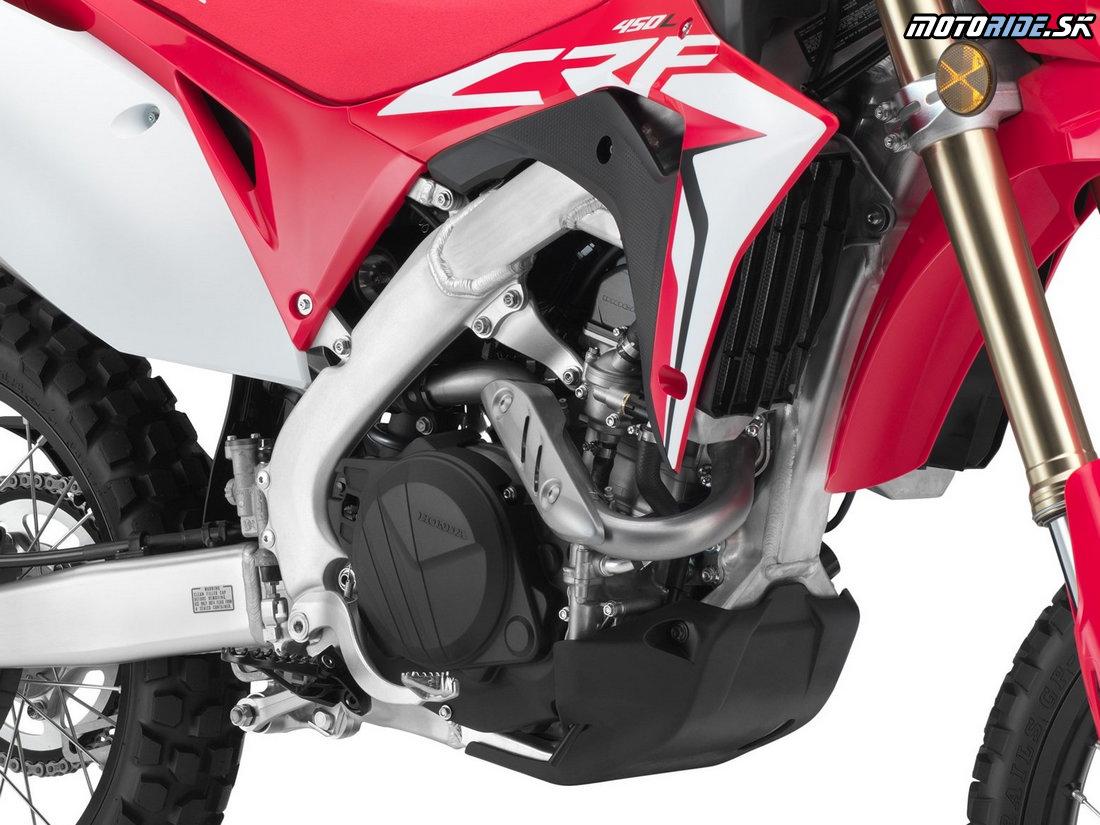 Motor upravený na dlhšie servisné intervaly - Honda CRF450L 2019