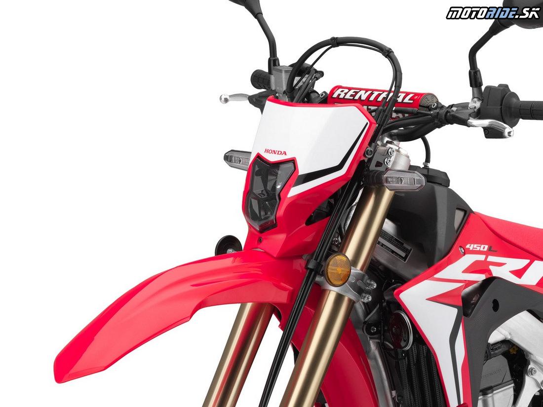 LED osvetlenie a smerovky - Honda CRF450L 2019