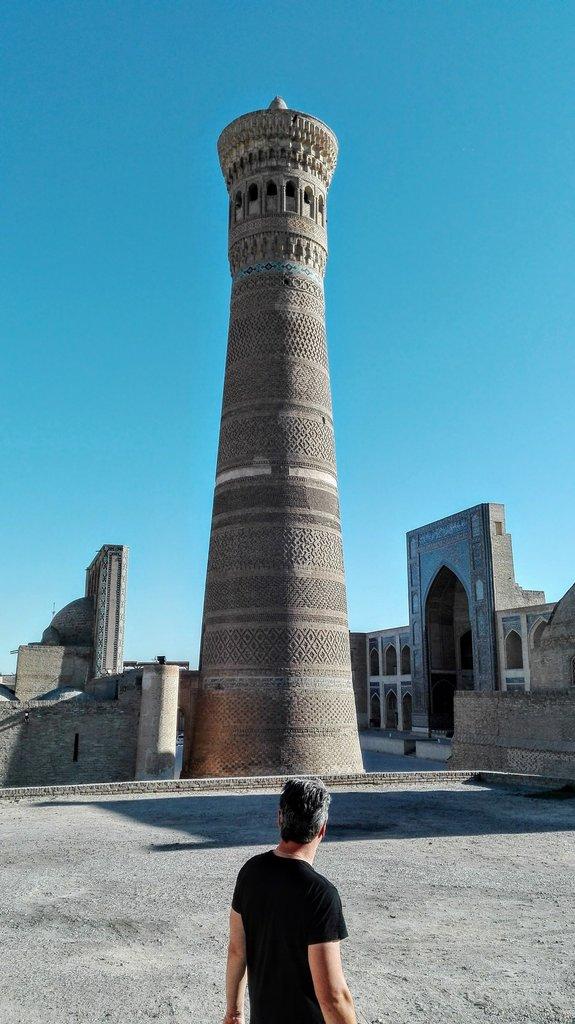 Miro a minaret - Buchara