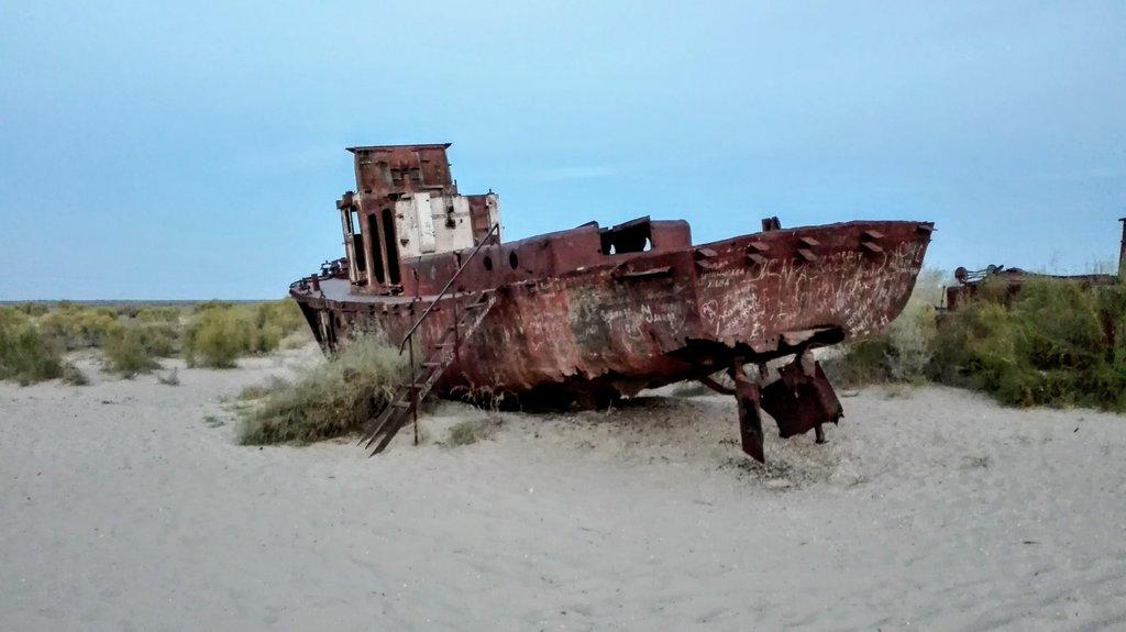 kedysi brázdila vody Aralu