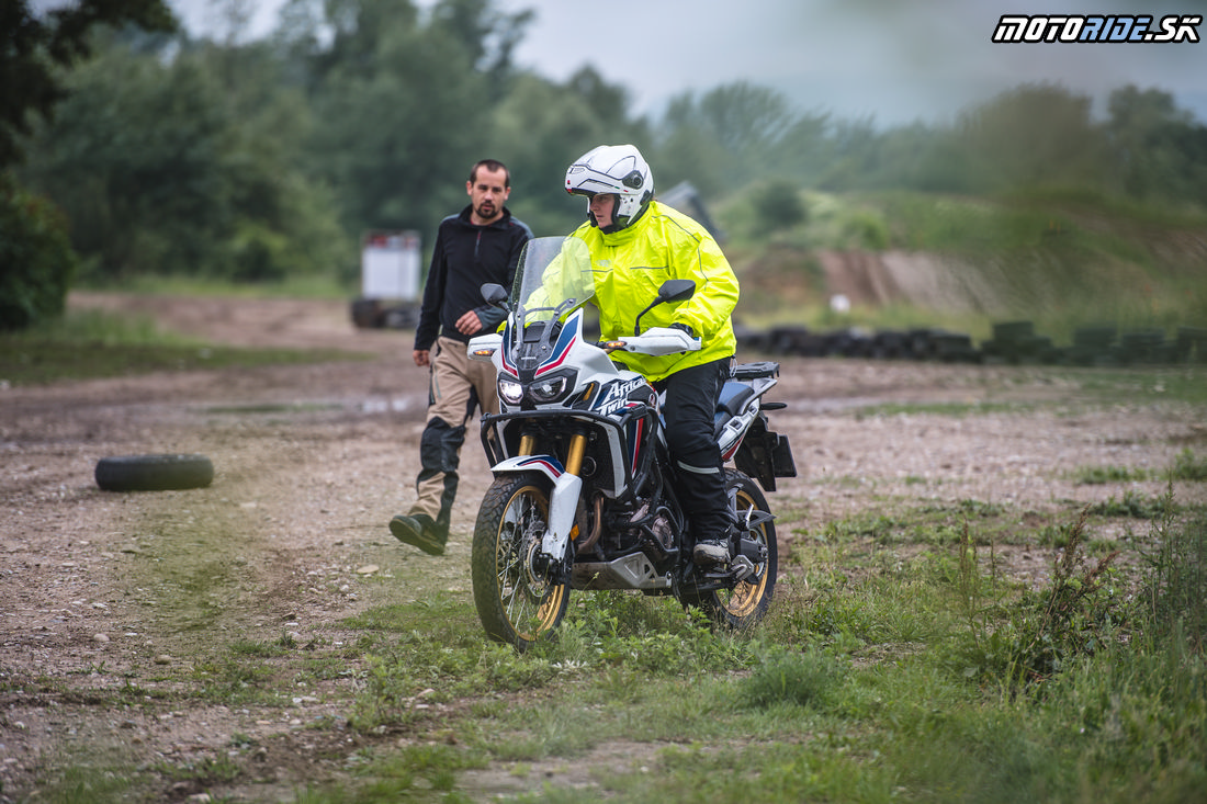 Enduro škola - Honda Africa Twin Test Days 2018