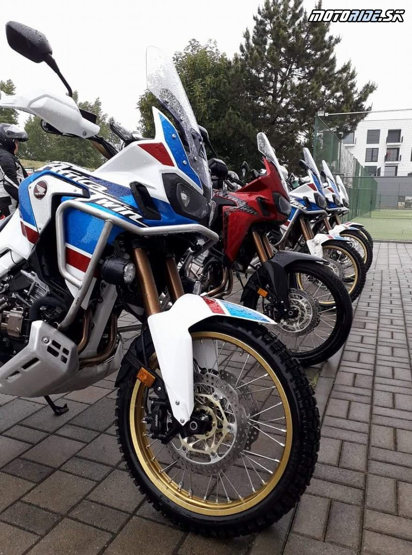Enduro škola - Honda Africa Twin Test Days 2018